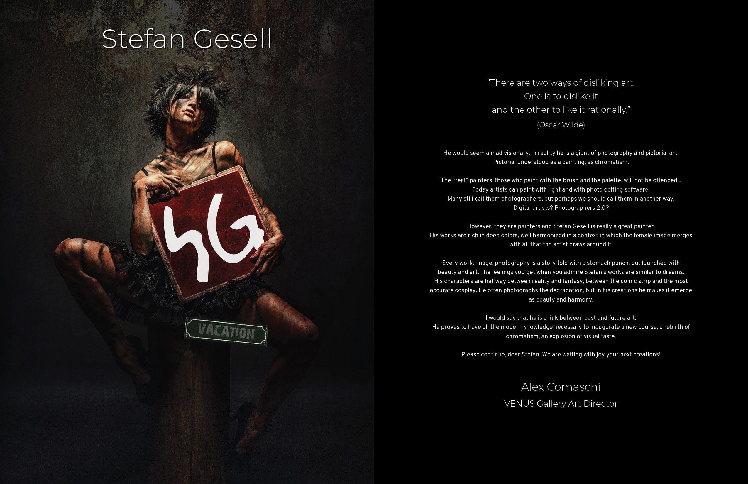 VENUS Gallery Special - Stefan Gesell